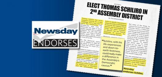 Newsday endorses Tom Schiliro