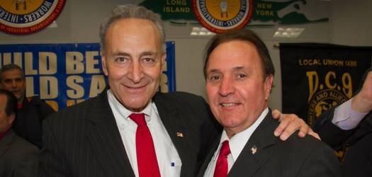Sen. Chuck Schumer and Tom Schiliro
